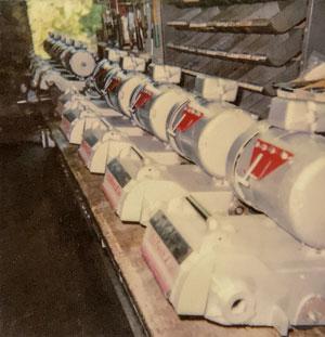 1993 SL8 production line